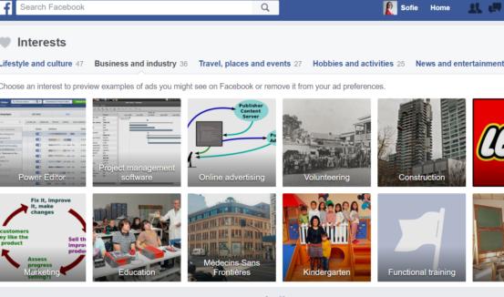 Hvad kan du lide på Facebook